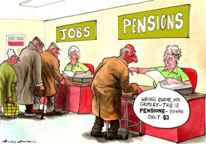 Wrong Queue, Mr. Grimley - This is Pensions - You're Only 83