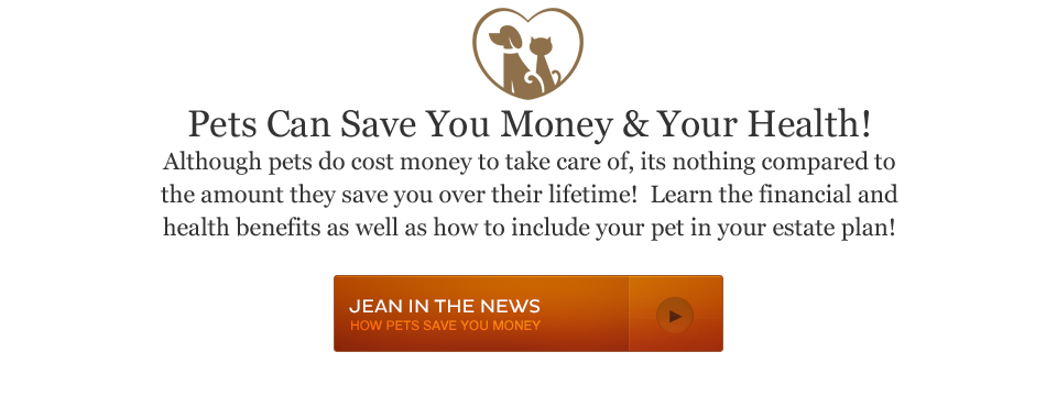 pets save you money