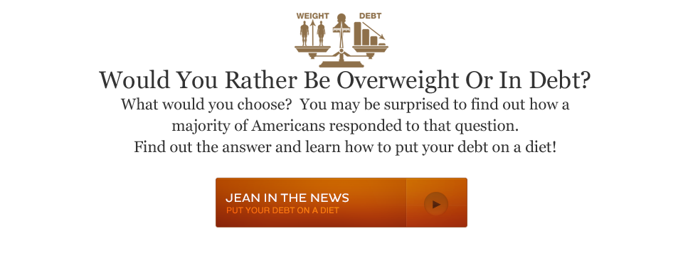 Would You Rather Be Overweight Or In Debt?