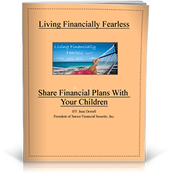 Living Financially Fearless: Share Financial Plans With Your Children